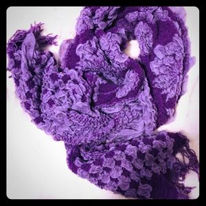 Gorgeous purple scarf